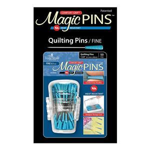 Taylor Seville Magic Quilting Pins Pack of 50 in Storage Case