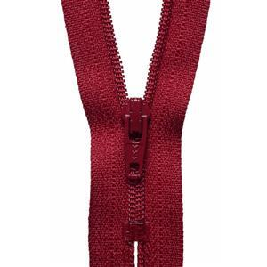 Scarlet Berry Nylon Dress and Skirt Zip 30cm