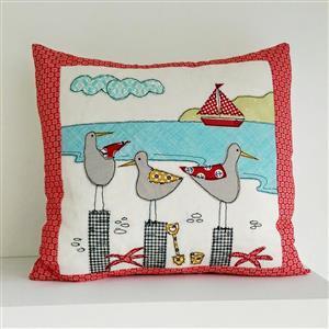 Helen Newton's Seagulls Cushion Instructions