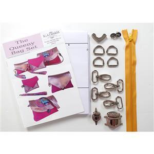 Rebecca Alexander Frost Queeny Bag Set Pattern & Hardware