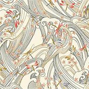 Niwa in Dragonfly Garden Cream Fabric 0.5m