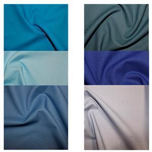 Blue Adult Fat Quarter Skirt Bundle: Fabric (3m)