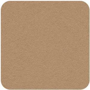 Felt Square in Stone 22.8x22.8cm (9x9