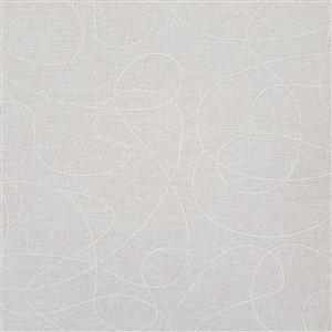Squiggle Cream Extra Wide Backing Fabric 0.5m (280cm Width)