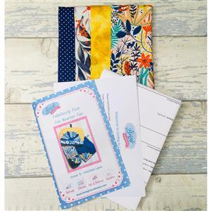 Living in Loveliness Fabulously Fast Fat Quarter Fun - Issue 9 - Kitchen Love - Brights