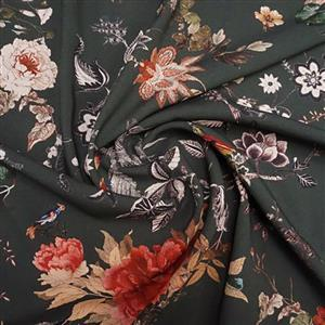 Woodland Harmony Viscose Fabric 0.5m