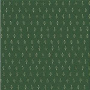Lynette Anderson Peace & Joy Little Trees On Pine Fabric 0.5m