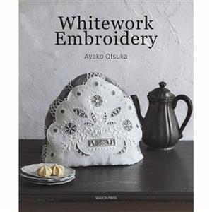 Whitework Embroidery Book by Ayako Otsuka