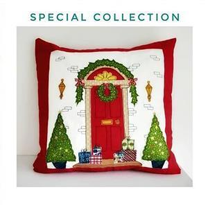 Helen Newton's Christmas Cushion Instructions