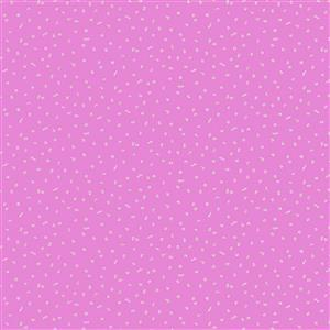 Forage Tiny Summer Flowers in Bright Pink Fabric 0.5m