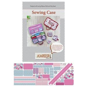 Amber Makes Hexi Patchwork Sewing Case Kit : Instructions & Panel (140 x 55cm)