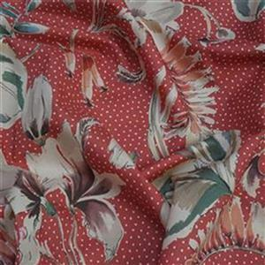 Salmon Pink Selsey Top Fabric Bundle (1.5m)