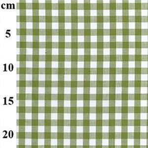 Green Gingham Toddlers Summer Dress & Hat Fabric Bundle (2m)