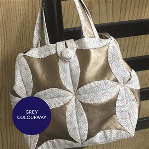 Village Fabrics Helen Bag in Grey