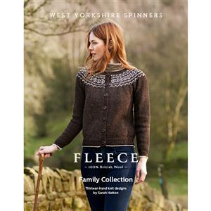 WYS Fleece Family Collection Pattern Book