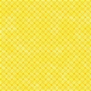 Gradient Yellow Fabric 0.5m