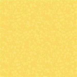 Liberty Wiltshire Shadow Collection Lemon Fabric 0.5m