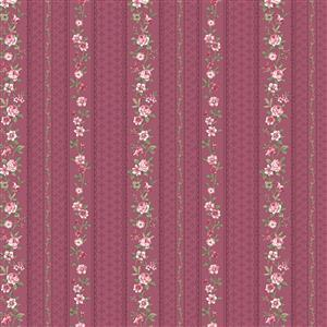 Juliet Roses On Dusky Pink 8.5m Bolt
