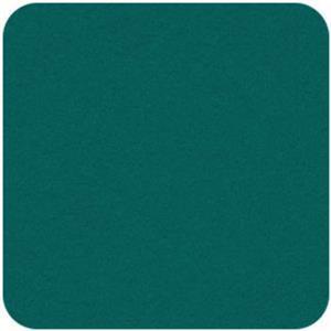 Felt Square in Teal 22.8x22.8cm (9x9