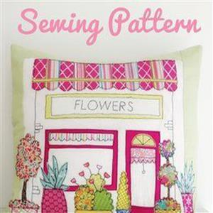 Helen Newton's Flower Shop Cushion Instructions