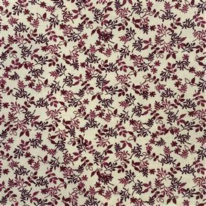 Autumn Leaves Cream Fabric 0.5m