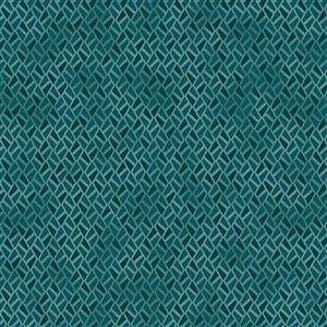 Gradient in Teal Blue Fabric 0.5m