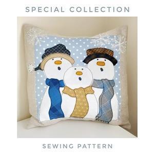 Helen Newton's Snowmen Cushion Instructions