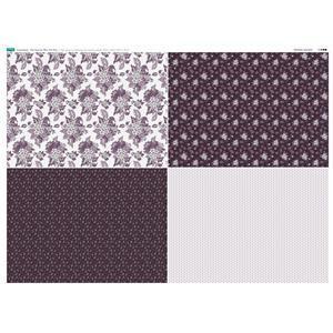 Copen Plumb 4 FQ's Fabric Panel 1 - 140 x 105cm Exclusive