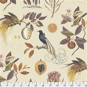 Sanderson Paradesia in Spice Fabric from Cashmere Range 0.5m