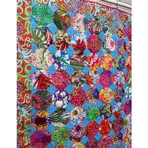 Kaffe Fassett Cottage Garden Flowers Quilt Kit 129 x 159cm