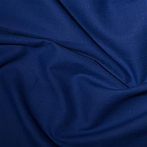 Linen-Look Cotton in Royal Blue Fabric 0.5m