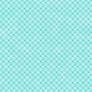 Gradient Sky Blue Fabric 0.5m