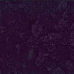 Bali Hand Dyed Black with Purple Fabric 0.5m