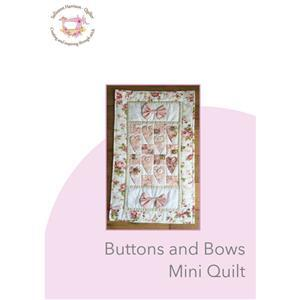 Sallieann Quilts Buttons and Bows Mini Quilt Instructions