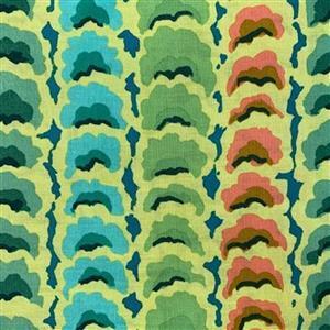 Kaffe Fassett Collective Garlands in Green Fabric 0.5m