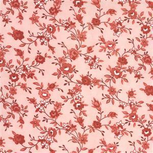 Moda Roselyn in Salmon Rose Fabric 0.5m