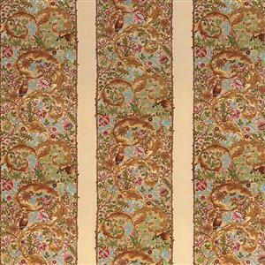 Moda May Morris Studio Stripes on Cream Fabric 0.5m