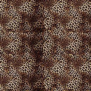 Animal Skins Cheetah Swirl Fabric 0.5m