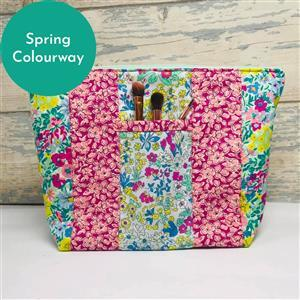 Living in Loveliness Yasmeen Cosmetic Bag - Spring