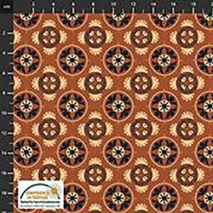 Alavana Jersey in Circular Floral Fabric 0.5m