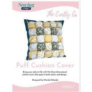 The Crafty Co Puff Cushion Instructions