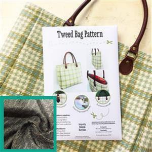 Hunters Tweed Bag Kit: Instuctions, Fabric (1m) & Handles