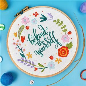 Oh Sew Bootiful Be Kind to Yourself Embroidery Kit