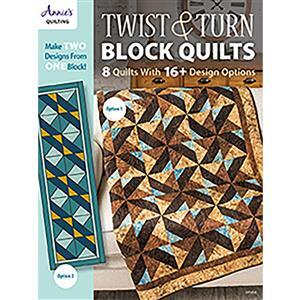 Twist & Turn Block Quilts Book by Annies Quilting