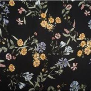 Nightfall Blooms Crepe Fabric Bundle (1.5m)