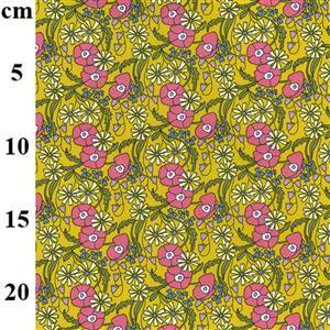 Ochre Cotton Poplin Fabric 0.5m
