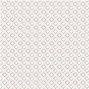 Riley Blake Idyllic Squares Cream Fabric 0.5m