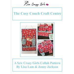 Sew Crazy Girls Cozy Couch Craft Center Pattern & Hardware
