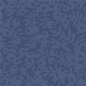 Liberty Hesketh House Collection in Blue Wiltshire Shade Fabric 0.5m