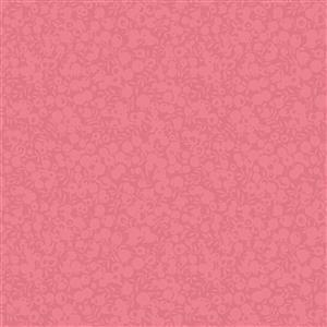Liberty Wiltshire Shadow Collection Rhubarb Fabric 0.5m